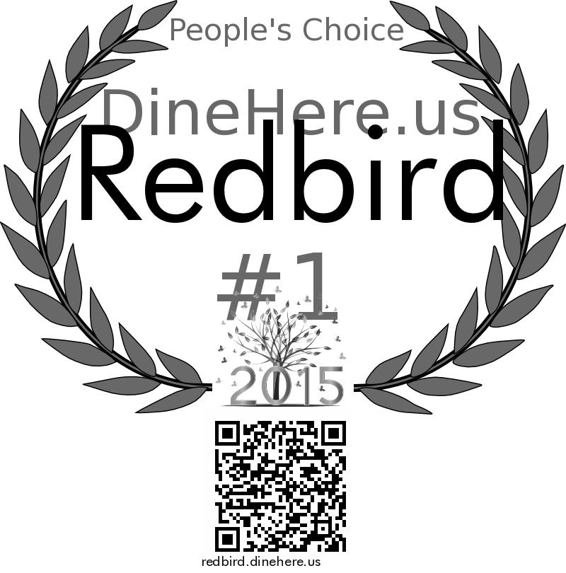 Redbird DineHere.us 2015 Award Winner